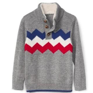 12日0点 : Gap 盖璞 934825 W 儿童半高领毛衣