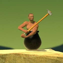 《Getting Over It with Bennett Foddy(抡大锤)》PC、iOS数字版游戏