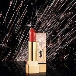 YVES SAINT LAURENT 圣罗兰 17年烟花限量版 金色方管口红 3.8g #13 Le Orange