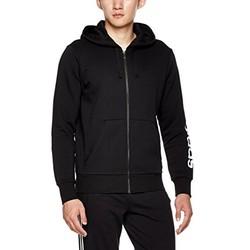 adidas 阿迪达斯 BR4058 黑/白 男式针织夹克