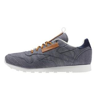 双12预告、限尺码 : Reebok 锐步 CL LEATHER DP 男子休闲运动鞋
