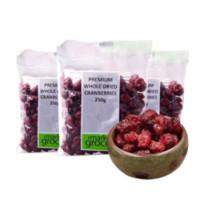 The Market Grocer 整粒蔓越莓干 250g*3袋装
