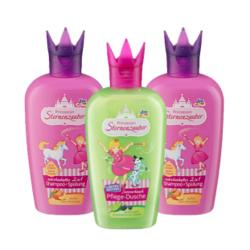 DM Prinzessin 小公主 儿童洗发沐浴套餐 二合一洗发水 200ml*2瓶+沐浴露 200ml