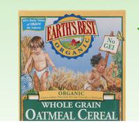 美国Earths best地球世界进口婴儿二段高铁燕麦米粉227g *2件