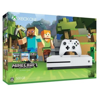 Microsoft 微软 Xbox One S 500GB《我的世界》同捆版主机