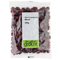 凑单品:The Market Grocer 天然蔓越莓干 250g