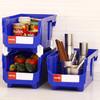 欧润哲 台湾进口储物箱 9.6升方形可叠式厨房杂物收纳箱 3只装 99元