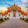 全国多地-泰国曼谷 6-8天往返含税机票 1299元/人起