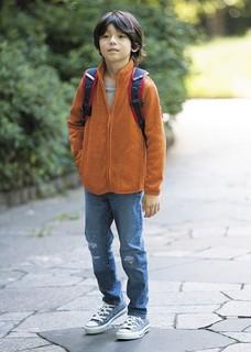 UNIQLO 优衣库 400094 大童款针织摇粒绒茄克