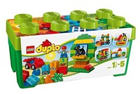 LEGO乐高得宝系列早教积木玩具益智拼搭10572 多合一趣味桶 会员抢先机!秒杀价2419日元,约¥142