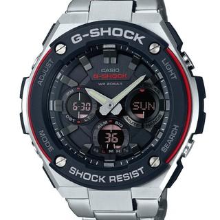 历史新低 : CASIO 卡西欧 G-SHOCK G-Steel GSTS100D-1A4 男士太阳能腕表