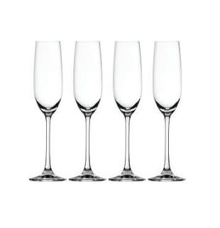 SPIEGELAU 诗杯客乐 Salute香槟酒杯四件套