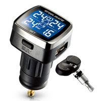 steel mate 铁将军 860N 无线内置 胎压监测仪 带USB接口(带安装服务)