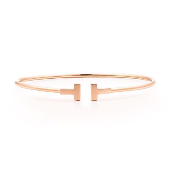 Tiffany&Co. 蒂芙尼 T系列 线圈手镯 (中号)