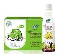 Lohas 悦活 柠檬U格 乳酸菌果汁饮料 350ml*15瓶 整箱装