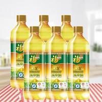 福临门 黄金产地玉米油 900ml*6瓶