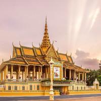 特价机票:上海/广州-柬埔寨金边 7日往返含税机票 多航司可选