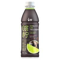限地区、临期品:QUEENCAFE 啡柠 青柠耶加雪菲 咖啡饮料 350ml*15瓶