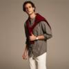 优衣库UNIQLO 法兰绒立领衬衫(长袖) 400664 99元