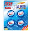 洛娃 洁厕宝50g*4 蓝泡泡马桶自动清洁剂 *2件 9.9元(合4.95元/件)