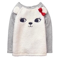 GYMBOREE 金宝贝 Polar Bear Pullover 女童针织卫衣