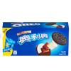 奥利奥Oreo早餐休闲零食蛋糕糕点黑白巧克力味夹心饼干194g(3件7折后) 2.66元