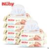 nuby 努比 婴儿湿巾 80抽6包 44.9元(需用券)