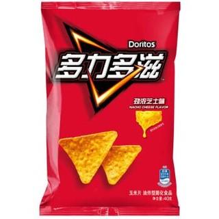 Doritos 多力多滋 休闲零食 玉米片 劲浓芝士味 40g *2件
