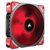 美商海盗船(USCorsair)ML140 PRO LED 磁悬浮高风压量 机箱风扇 (LED红光/14CM) 224元
