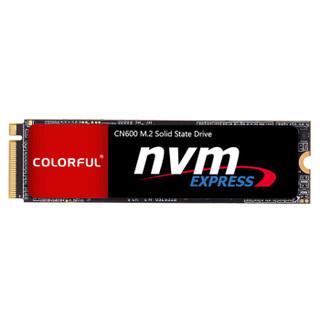 学生专享 : COLORFUL 七彩虹 CN600 M.2 NVMe 固态硬盘 1TB