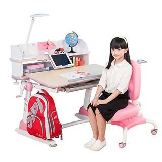 心家宜 M110_M207R1 手摇机械升降儿童学习桌椅套装