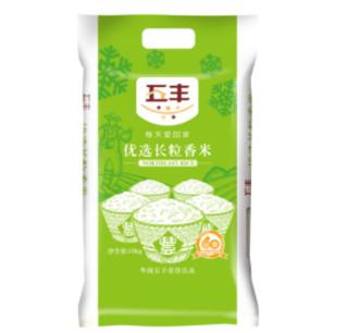 华润五丰 优选长粒香米 10kg