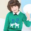 小猪班纳 圣诞元素 儿童毛衣