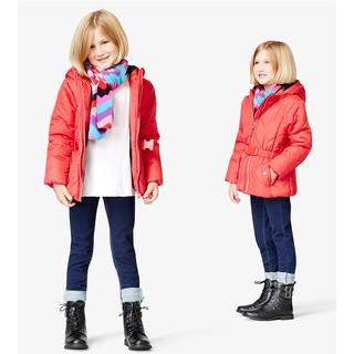 Macy's 女童冬中长款加厚棉服 *2件