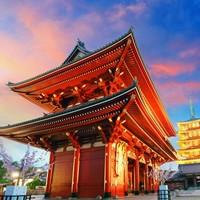 13日10点:北京直飞日本名古屋-大阪-京都-箱根-东京6天5晚