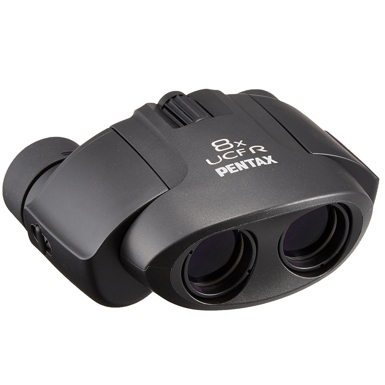 日本宾得PENTAX双筒望远镜UP(ucf升级款)高倍高清便携 儿童 学生户外 女生演唱会 旅游 尊贵黑 8x21 高清稳定