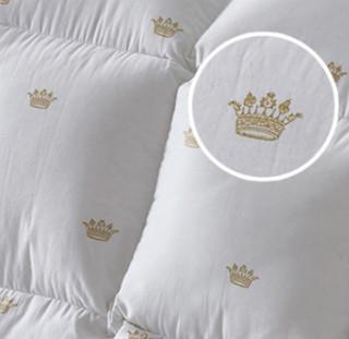 霞珍 金色皇冠 95%舒适白鹅绒被