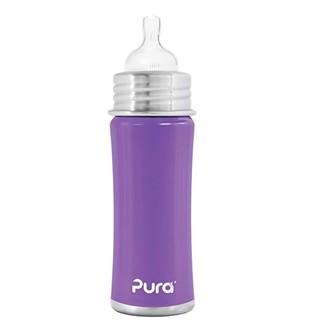 中亚Prime会员 : Pura Kiki PK11N2L 婴儿不锈钢奶瓶 300ml