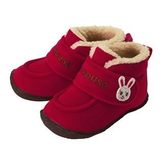 MIKI HOUSE儿童保暖学步冬靴