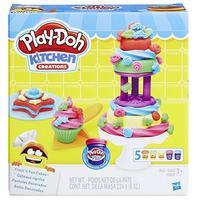 Play-Doh 培乐多 创意厨房系列 B9741 蛋糕烘焙套装 彩泥