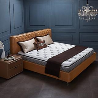 雅兰床垫 希尔顿总统乳胶护脊弹簧席梦思双人豪华垫层1.5m 1.8米