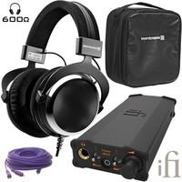 beyerdynamic 拜亚动力 DT880 头戴式耳机(600欧姆)+iFi Audio Micro iDSD 耳机放大器