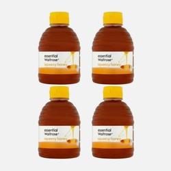 waitrose 纯清澈蜂蜜 挤压罐装 454g*4瓶