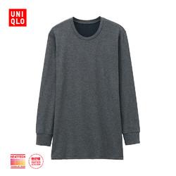 UNIQLO 优衣库 HEATTECH EXTRA WARM 172763 男士圆领T恤