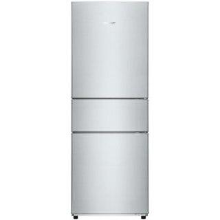 夏普(SHARP)282升 三门冰箱 变频无霜风冷 纳米低温触媒 保湿保鲜 SJ-EX28V-W(BCD-263WVXB-W)