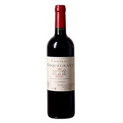 法国进口红酒 波尔多梅多克中级庄 洛克维古堡(Chateau Roquegrave ) 干红葡萄酒 2013年 750ml