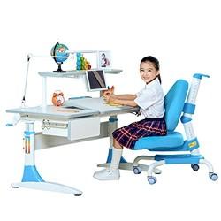心家宜 M114+M207L+M623 儿童学习桌椅套装