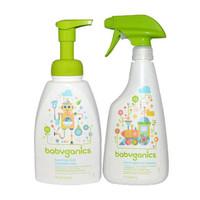 BabyGanics 甘尼克宝贝 玩具桌椅清洁剂+餐具奶瓶清洁剂套装