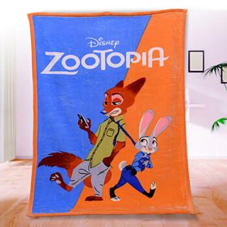 迪士尼宝宝DisneyBaby婴儿毛毯子儿童云毯盖毯双层加厚礼盒装桔DZYS1111004
