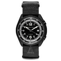 银联返现购:HAMILTON 汉米尔顿 Khaki Aviation系列 H80485835 男士机械腕表